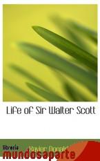 Portada de LIFE OF SIR WALTER SCOTT