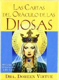 Portada de LAS CARTAS DEL ORACULO DE LAS DIOSAS: 44 CARTAS DEL ORACULO CON LIBRO GUIA