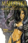 Portada de MAJESTIKA: THE ART OF MONTE MICHAEL MOORE