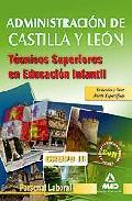 Portada de TECNICOS SUPERIORES EN EDUCACION INFANTIL DE LA ADMINISTRACION DECASTILLA Y LEON. PERSONAL LABORAL GRUPO III. TEMARIO Y TEST DE LA PARTE ESPECIFICA