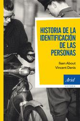 Portada de HISTORIA DE LA IDENTIFICACIÓN DE LAS PERSONAS