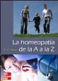 Portada de LA HOMEOPATIA DE LA A A LA Z