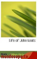 Portada de LIFE OF JOHN KEATS