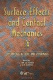 Portada de SURFACE EFFECTS AND CONTACT MECHANICS IX: COMPUTATIONAL METHODS AND EXPERIMENTS (WIT TRANSACTIONS ON ENGINEERING SCIENCES)