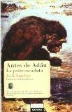 Portada de ANTES DE ADAN / LA PESTE ESCARLATA