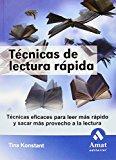 Portada de TECNICAS DE LECTURA RAPIDA