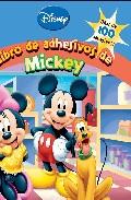 Portada de MICKEY Y SUS AMIGOS: LIBRO DE ADHESIVOS DE MICKEY