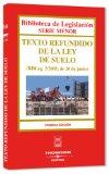 Portada de TEXTO REFUNDIDO LEY SUELO