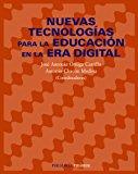 Portada de NUEVAS TECNOLOGIAS PARA LA EDUCACION EN LA ERA DIGITAL