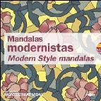 Portada de MANDALAS MODERNISTAS (ESPAÑOL-INGLES): MODERN STYLE MANDALAS