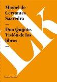 Portada de DON QUIJOTE. VISIÓN DE LOS LIBROS (EBOOK)