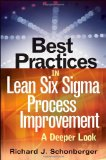 Portada de BEST PRACTICES IN LEAN SIX SIGMA PROCESS IMPROVEMENT
