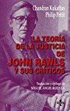 Portada de LA TEORIA DE LA JUSTICIA DE JOHN RAWLS Y SUS CRITICOS