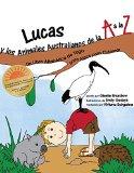 Portada de LUCAS Y LOS ANIMALES AUSTRALIANOS DE LA A A LA Z: UN LIBRO ALFABÉTICO DE YOGA PARA NIÑOS PARA COLOREAR