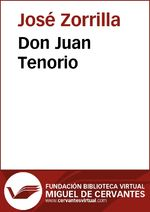 Portada de DON JUAN TENORIO