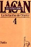 Portada de LA RELACION CON EL OBJETO: EL SEMINARIO
