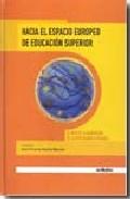 Portada de HACIA EL ESPACIO EUROPEO DE EDUCACION SUPERIOR