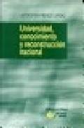 Portada de UNIVERSIDAD, CONOCIMIENTO Y RECONSTRUCCION NACIONAL