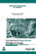 Portada de BIOLOGIA Y GEOLOGIA, EDUCACION SECUNDARIA DE ADULTOS: GUIA DIDACTICA