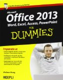 Portada de MICROSOFT OFFICE 2013 FOR DUMMIES (HOEPLI FOR DUMMIES)