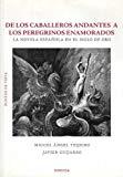 Portada de DE LOS CABALLEROS ANDANTES A LOS PEREGRINOS ENAMORADOS: LA NOVELAESPAÑOLA EN EL SIGLO DE ORO