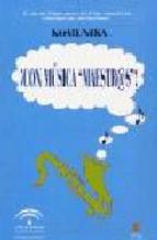 Portada de CON MUSICA MAESTRAS! (MAESTR@S) (INCLUYE CD)