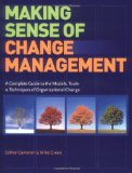 Portada de MAKING SENSE OF CHANGE MANAGEMENT