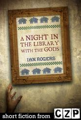 Portada de A NIGHT IN THE LIBRARY WITH THE GODS