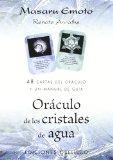 Portada de ORACULO DE LOS CRISTALES DE AGUA: 48 CARTAS DE ORACULO Y UN MANUAL DE GUIA