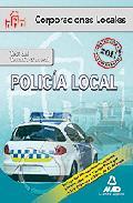 Portada de POLICIA LOCAL TEST DEL TEMARIO GENERAL