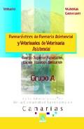 Portada de CUERPO SUPERIOR FACULTATIVO, ESCALA TITULADOS SANITARIO  ADMINISTRACION COMUNIDAD AUTONOMA DE CANARIAS. FARMACEUTICOS DE FARMACIA ASISTENCIAL Y VETERINARIOS DE VETERINARIA ASISTENCIAL. TEMARI