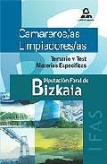 Portada de CAMAREROS/AS LIMPIADORES/AS DE LA DIPUTACION FORAL DE BIZKAIA: TEMARIO Y TEST DE MATERIAS ESPECIFICAS
