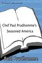 Portada de CHEF PAUL PRUDHOMME'S SEASONED AMERICA