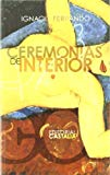 Portada de CEREMONIAS DE INTERIOR
