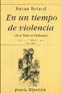 Portada de EN UN TIEMPO DE VIOLENCIA