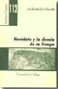 Portada de HERODOTO Y LA CIENCIA DE SU TIEMPO