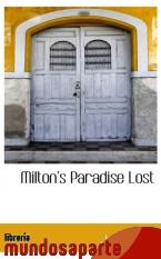 Portada de MILTON S PARADISE LOST