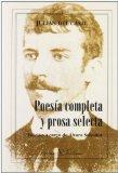 Portada de POESIA COMPLETA Y PROSA SELECTA