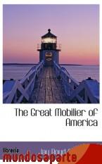 Portada de THE GREAT MOBILIER OF AMERICA