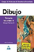 Portada de CUERPO DE PROFESORES DE ENSEÑANZA SECUNDARIA: DIBUJO: TEMARIO: VOLUMEN III: DIBUJO TECNICO II