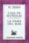 Portada de CASA DE MUÑECAS; LA DAMA DEL MAR