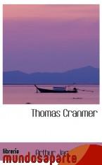 Portada de THOMAS CRANMER