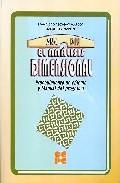 Portada de ANALISIS DIMENSIONAL, EL PROCEDIMIENTO DE CALCULO Y MANUAL DEL PROGRAMA