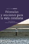Portada de FORMULAS Y ORACIONES PARA LA VIDA COTIDIANA