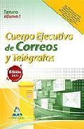Portada de CUERPO EJECUTIVO DE CORREOS Y TELEGRAFOS. TEMARIO VOLUMEN II