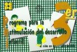 Portada de PROGRAMA PARA LA ESTIMULACION DEL DESARROLLO INFANTIL, III