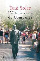 Portada de L'ÚLTIMA CARTA DE COMPANYS (EBOOK)