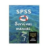 Portada de SPSS SURVIVAL MANUAL: A STEP BY STEP GUIDE TO DATA ANALYSIS USING SPSS FOR WINDOWS (VERSION 10)