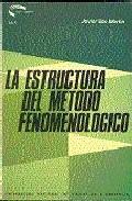 Portada de 36005AA01-LA ESTRUCTURA DEL METODO FENOMENOLOGICO
