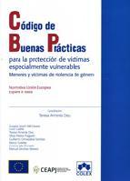 Portada de CODIGO DE BUENAS PRACTICAS: PARA LA PROTECCION DE VICTIMAS ESPECIALMENTE VULNERABLES